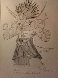 broly hentai pre broly legendary super saiyan davidskovach morelikethis artists manga traditional drawings
