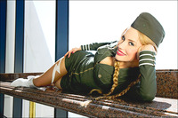 cammy cosplay hentai lusciousnet cammy cosplay military pictures search query hentai snk page