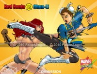 capcom hentai redsonjaxchunli marvel capcom