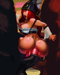 cartoon hentai porn images miss fortune getting ass stretched huge cocks