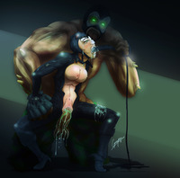 cat woman hentai pics greyfox pictures user catwoman titan goon