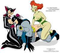 catwoman e hentai iceman catwoman poison ivy