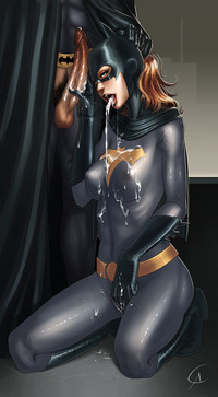 catwoman hentai comics pics batgirl brings super hero sensational orgasm nude poison ivy catwoman hentai part