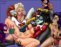 catwoman hentai galleries anfa harley quin artie batgirl catwoman quinn poison ivy supergirl wonder woman