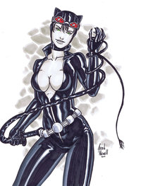 catwoman hentai game pre catwoman morelikethis fanart cartoons traditional