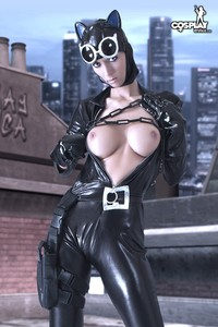 catwoman hentai game arkham city catwoman nude cosplay