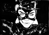 catwoman sexy hentai catwoman dmthompson morelikethis fanart traditional drawings movies