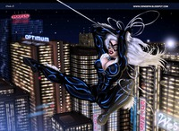 catwoman sexy hentai blackcat catwoman marvel comics guillem march spiderman dsng boobs breats tits latex costume catsuit sexy future entry