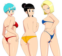 chi chi dragon ball hentai bulma chi android blackangel dragonball media