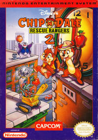 chip n dale hentai chip dale rescue rangers nes cover