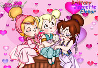 chipettes hentai happy valentine chipettes isaacsdevil cqwt favourites