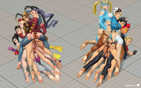chun li and cammy hentai media original cammy white chun crimson viper ibuki juri han
