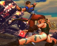 chun li and cammy hentai pre sfxtk cammy chun superattack charascolor ujd morelikethis digitalart typography