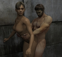 clair redfield hentai dbecac acd chris redfield jill valentine resident evil sasha dog