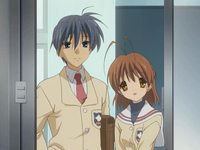 clannad nagisa hentai tomoya nagisa watching kotomi category anime series completed clannad page