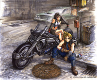 cloud and tifa hentai torinogt albums anime hentai final fantasy tifa bike cloud showpic dml