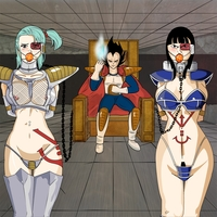 dagon ball z hentai toons pics pic picture armor bulma briefs chichi clothes color dragon ball female front hair human indoors interspecies male saiyan scouter sitting standing tagme vegeta