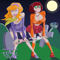 daphne and velma hentai flashdivas pictures user fun daphne velma