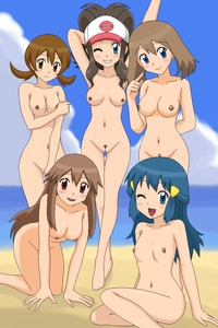 dawn hentai gallery leaf lyra pokemon whi hentai dawn lesbian cartoon