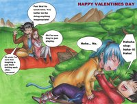 dbgt pan hentai dbgt remastered happy valentines day moopoopower dswv morelikethis artists fanart manga traditional fancomics