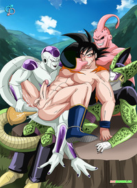 dbz hentai magna media dbz cell hentai dragon ball porn gay yaoi original dragonball