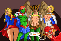 dc comics hentai dimsumboy pictures user heroines flash page all