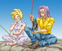 deagon ball z hentai dbz yaoi fanart gohanxtrunks dragon ball kai gay hentai peruggine gohan date cel saga end