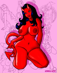 demon girls hentai pictures user curvy demon girl