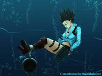 devil may cry 4 gloria hentai whiteguardian pictures user lady chained underwater