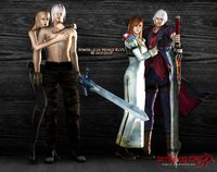 devil may cry gloria hentai pre demons couples dante trish nero kyrie morelikethis artists