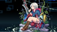 devil may cry hentai manga blue eyes boots devil may cry gray hair nero short sword tidsean water weapon anime wallpaper album wallpapers manga