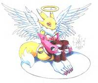 digimon furry hentai angel photo furry yiffy hentai digimon