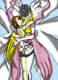 digimon hentai angewomon guardian angel angewomon tmntislove rakn art