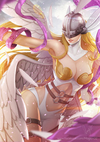 digimon hentai angewomon exotication angewomon digimon magion