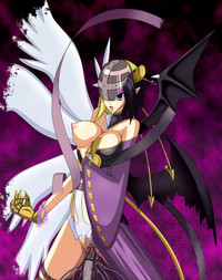 digimon hentai angewomon media original some digimon porn angewomon xros wars lilithmon