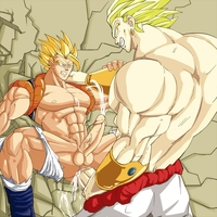 dragon ball 3 hentai toons pics pic picture boys broly dragon ball gay gogeta hotcha yaoi