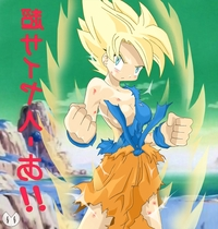 dragon ball z goku hentai toons pics pic picture breasts color covered dragon ball female only front namek rule saiyan solo son goku super