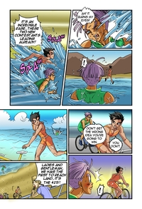 dragon ball z hentai mobile media original dragon ball kai comics heated competitioners dragonball hentai