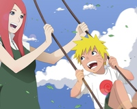 dragon crisis hentai naruto shippuden uzumaki kushina swing sky fun smile hentai photo picture wallpaper page
