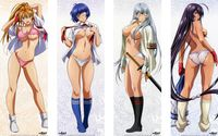 ecchi vs hentai media original ikki tousen damsels hentai ecchi pictures search maid