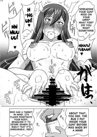 erza hentai doujin hentai trying train erza