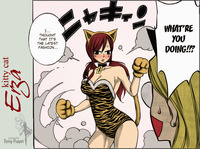 erza hentai manga kitty cat erza dying puppet morelikethis manga traditional strips
