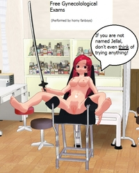 erza scarlet hentai manga erza scarlet gynecologists chair play anime manga