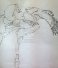 fairy tell hentai pre love eagles smile every zgdz morelikethis traditional drawings animals