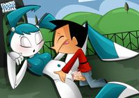 famous toons hentai life teenage robot page