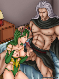 final fantasy 4 rydia hentai grandchaossr pictures user commission golbez rydia