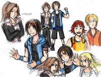 final fantasy viii hentai genderbend final fantasy jassikorandoms morelikethis fanart digital painting games
