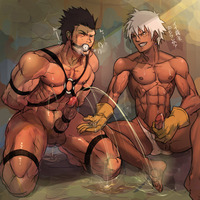 gay hentai toons muscle toons cums huge load toon gay