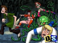 gay scooby doo hentai drawn presents scooby doo