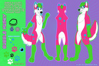 gaz hentai bubble husky ref sheet darkzan dvd morelikethis digitalart paintings animals